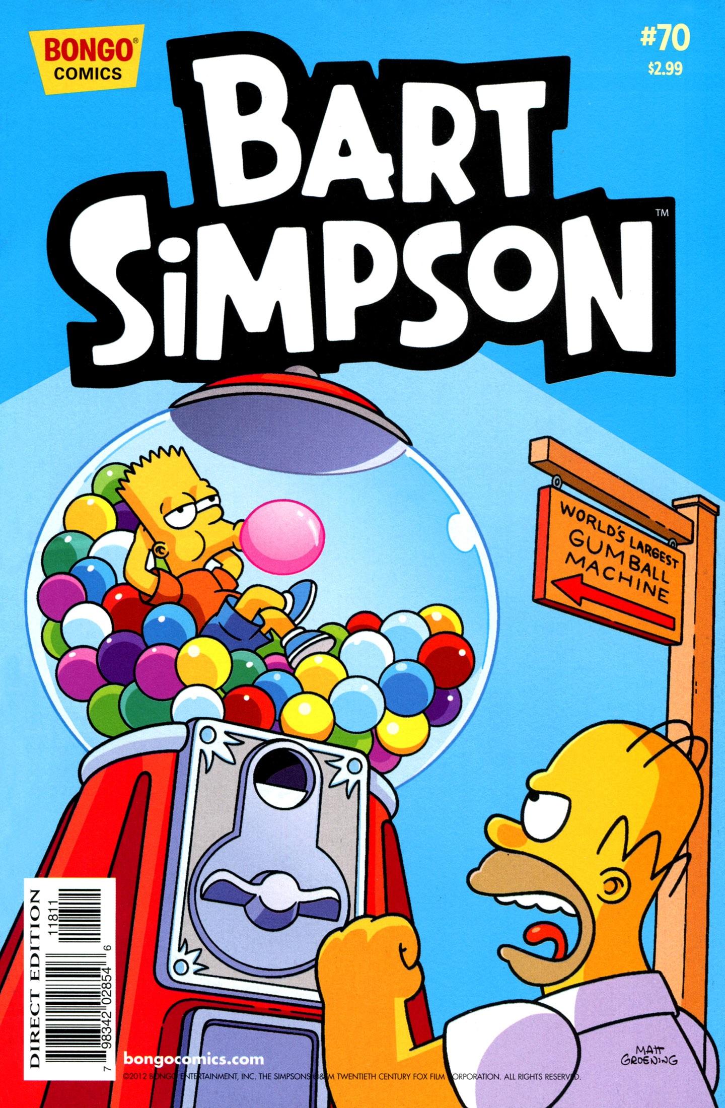Bart Simpson Comics 70
