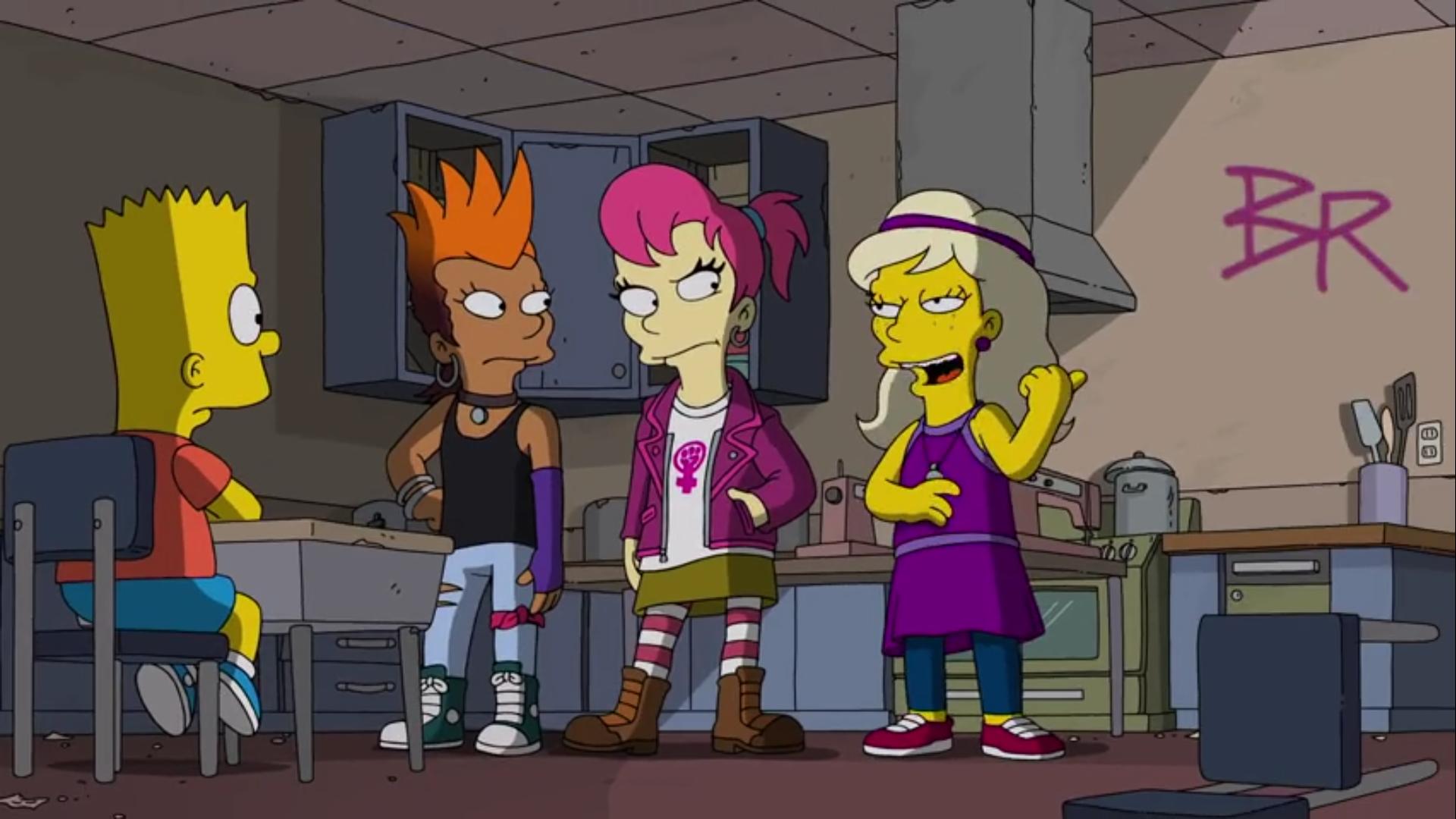 Bart vs. Comichão e Coçadinha