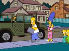 Homer partiu exército