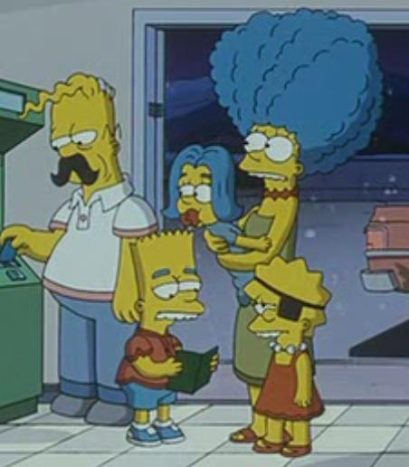 Simpsons Family Lookalikes
