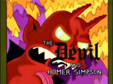 Simpsons halloween THOH IV A