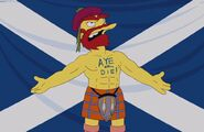 Willie's Views On Scottish Independence birth mark