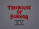 Treehouse of Horror XV - Title Card