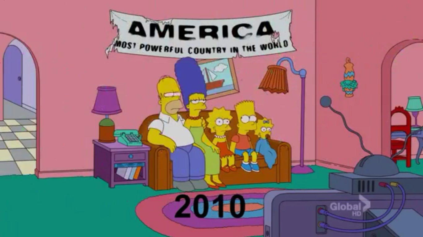 1989 - 2012 couch gag