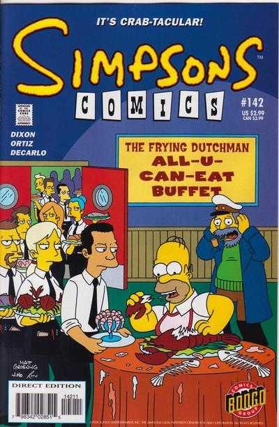 Simpsons Comics 142