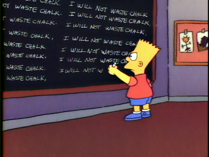 Bart the Genius/Gags