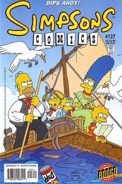 Simpsons Comics 127