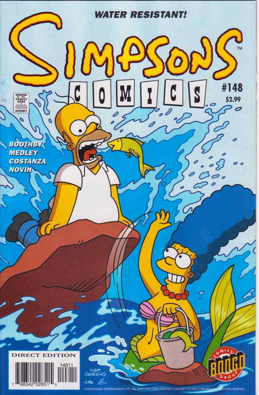 Simpsons Comics 148