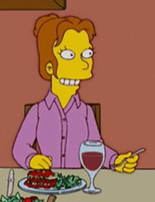 Homer's cousin's wife