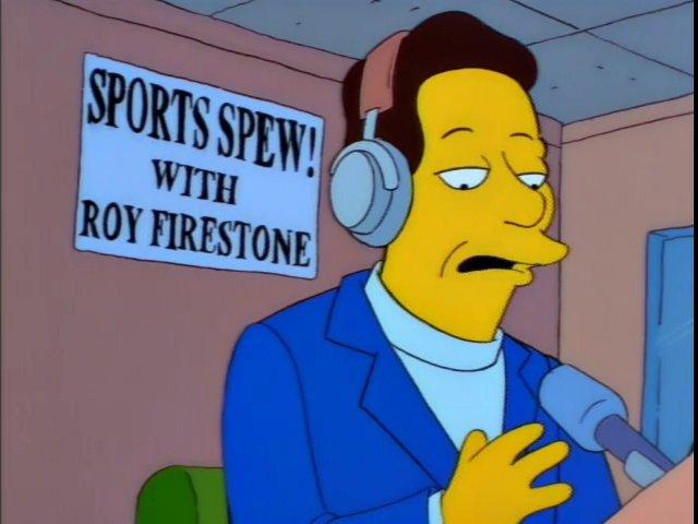 Sports Spew! With Roy Firestone