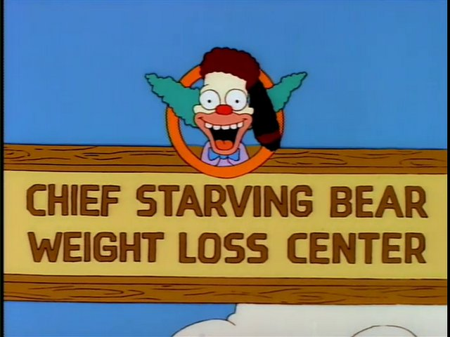 Chief Starving Bear Weight Loss Center