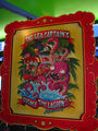 The Simpsons Ride The Sea Captain's Queasy Time Lagoon Adventure Poster