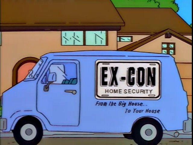 Ex-Con Home Security