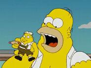 Homer eats Uter