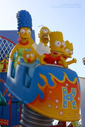 Simpsons Ride Marge