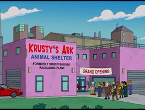 Krusty 's Ark