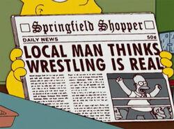 Homer wrestling real jornal.jpg