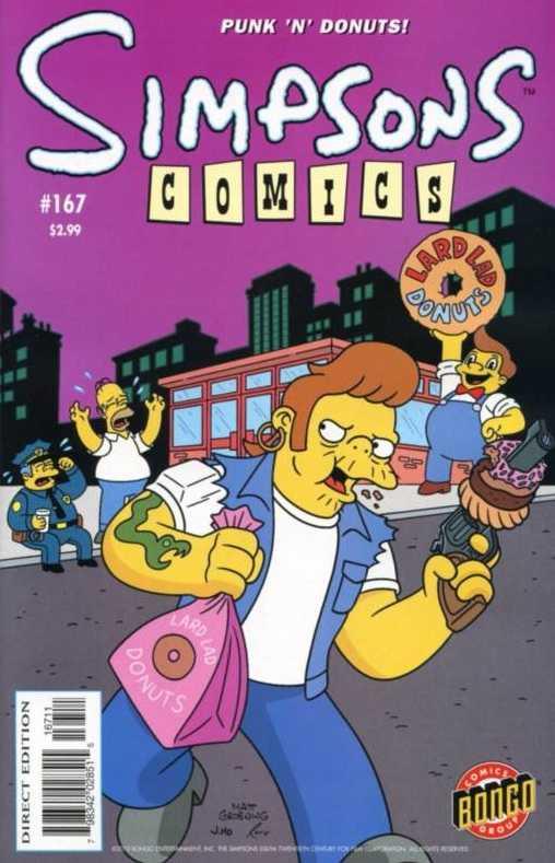 Simpsons Comics 167