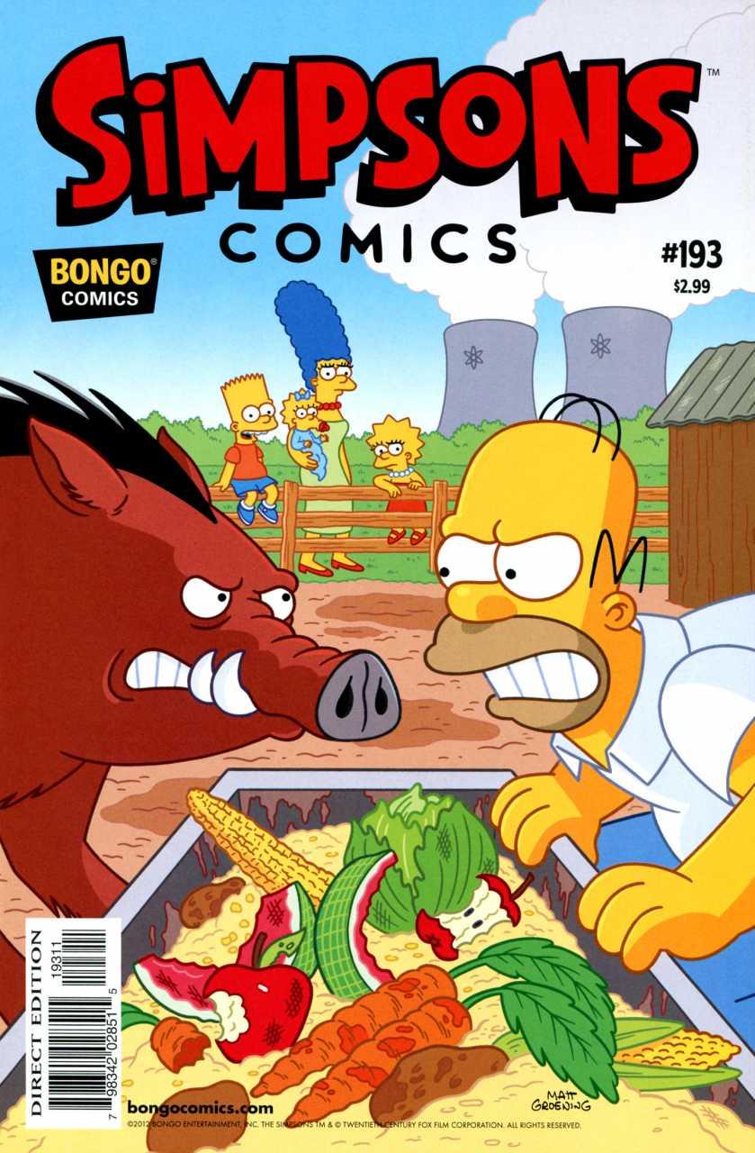 Simpsons Comics 193