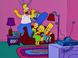 Crane couch gag
