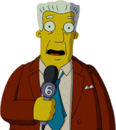 Kent Brockman in The Simpsons Movie
