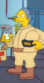 Springfield Nuclear Power Plant Employee