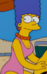 Marge swimsuit beach