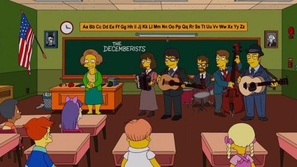"A Banda ""The Decemberists"" Participa de ""Os Simpsons"""