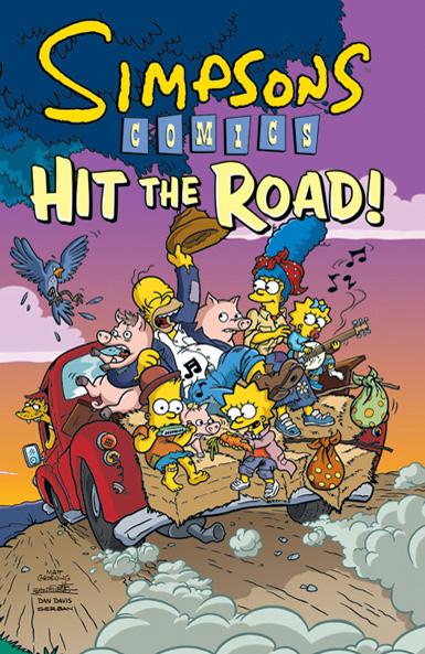 Simpsons Comics: Hit the Road!