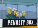 Penalty Box couch gag