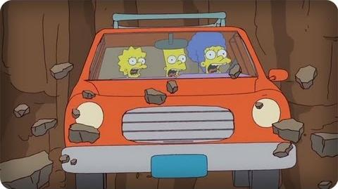 Plummeting The Simpsons Animation on Fox