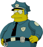 Clancy Wiggum in The Simpsons Movie