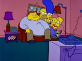 Fat Man couch gag