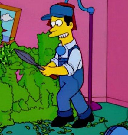 Gardener (couch gag)