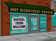 Centro recrutamento exército