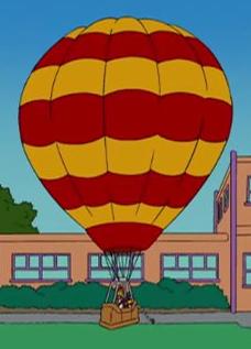 Zack's hot air balloon