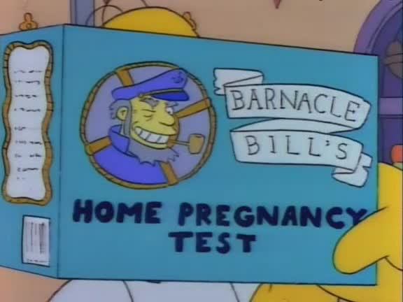 Barnacle Bill's home pregnancy test