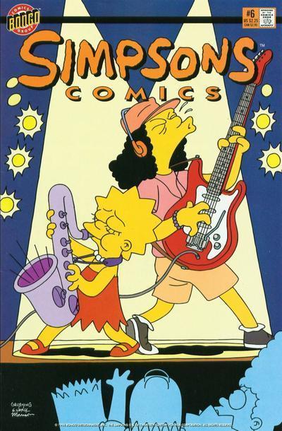 Simpsons Comics 6