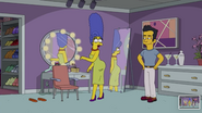 Marge Simpson in Wrecking Queen Scenes 12