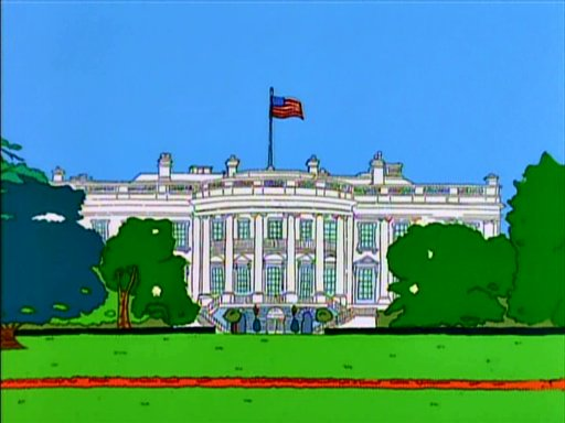 White House Simpsons Wiki Fandom