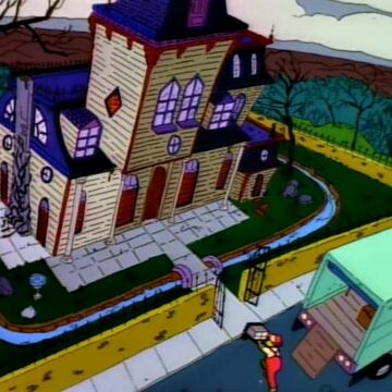 Evil House Simpsons Wiki Fandom