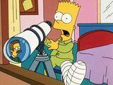 Um Bart na escuridão