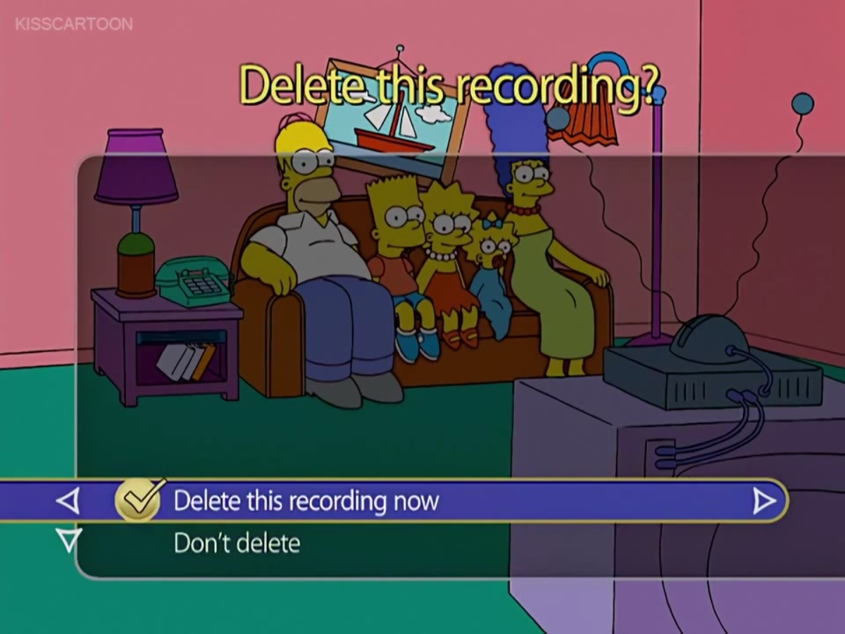 TiVo couch gag