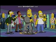The Simpsons Undercover Burns Credits