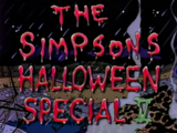 The Simpsons Halloween Special V - Title Card