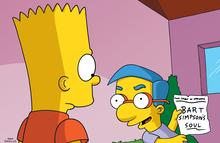 Bart vende sua alma