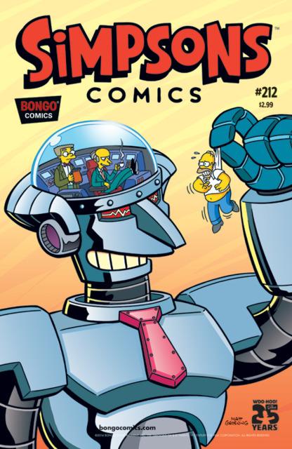 Simpsons Comics 212