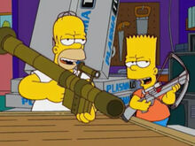 Homer bart perigosos mais