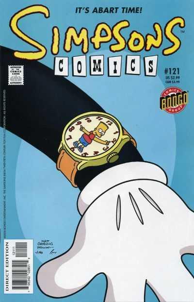 Simpsons Comics 121