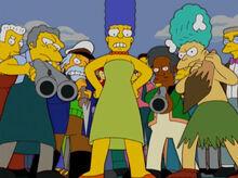 Marge moe sideshow mel armados
